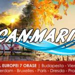 Turul Europei — 7 Orașe 390 Euro