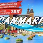 🌷 ЕВРОПЕЙСКИЙ КАЛЕЙДОСКОП Benelux — 8 ГОРОДОВ всего за 395 Евро! 🌷