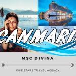Круиз MSC DIVINA из Рима по Средиземноморью 420 евро!!
